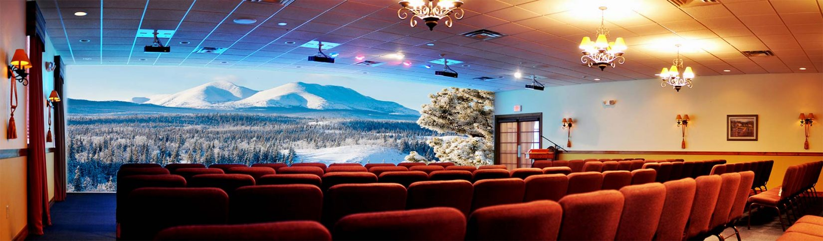 A Multi Projection Blended System Created By Crunchy Tech in Orlando, Fl