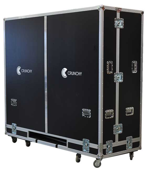 A Flight / Travel Case for Large Screen HDTVs and Displays.