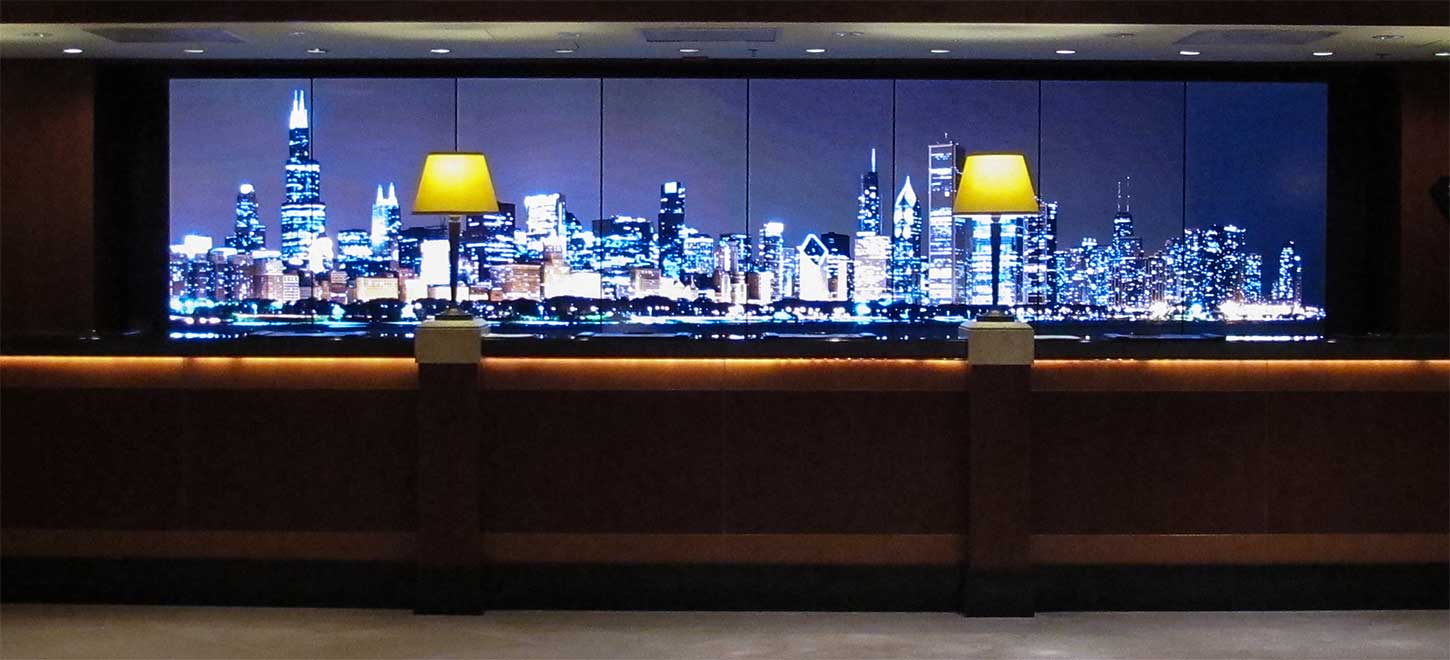 Video Wall Services Offered For Hotel Lobbies In Orlando, FL By Crunchy Tech