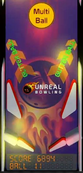 Pinball Background For Unreal Bowling