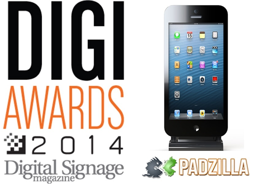 Padzilla, Giant iPhone wins 2014 Digi Award