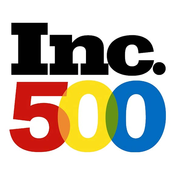 Inc. 500 award for Crunchy Tech in Orlando, FL