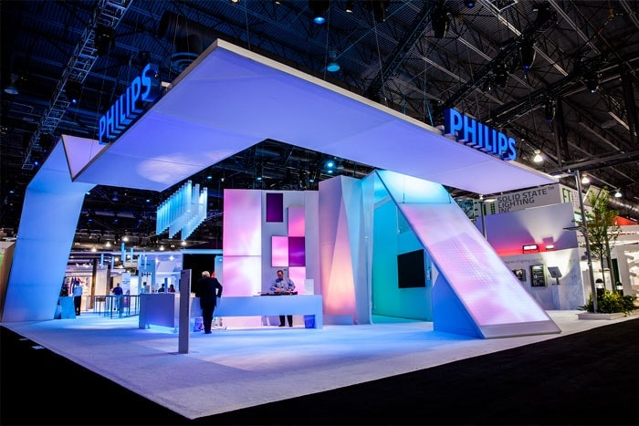 Create an appealing space at your trade show